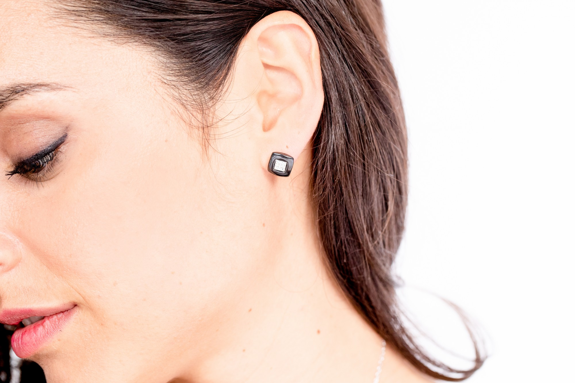 Boucles d'oreilles Argent Femme CERANITY