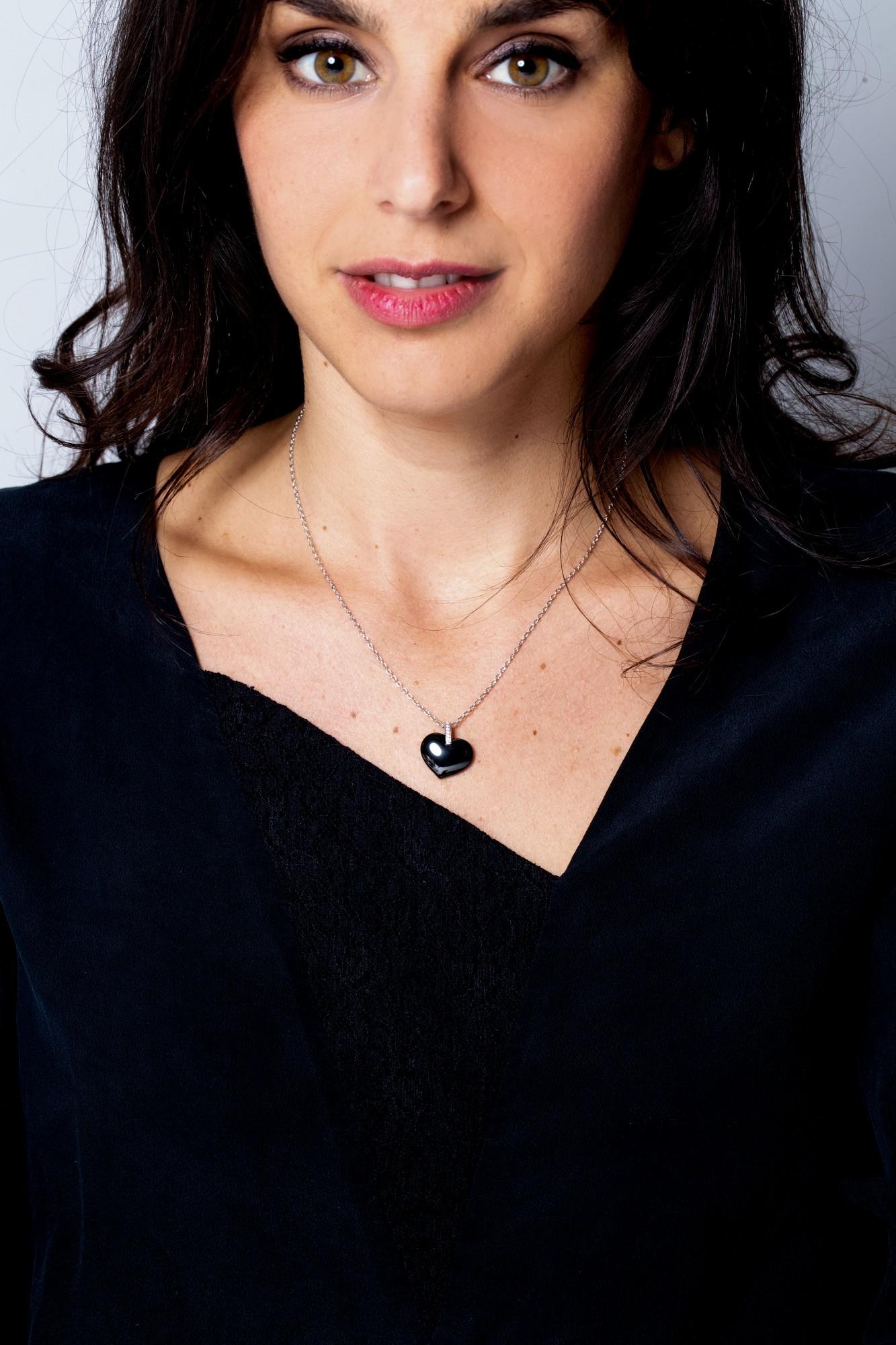 Collier argent 925 millièmes rhodié Femme CERANITY