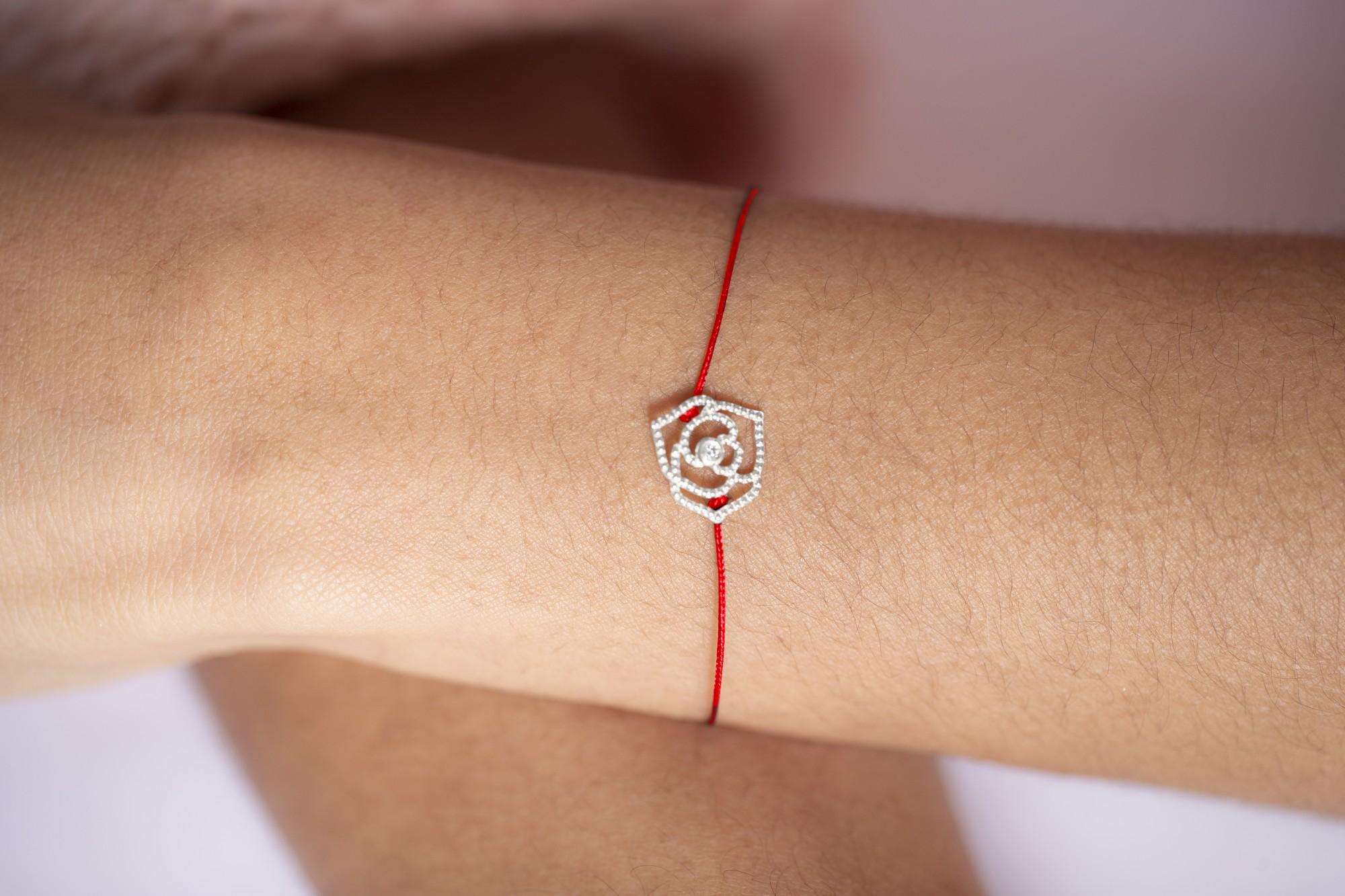 Bracelet argent 925 millièmes rhodié Femme La Garçonne Diamant