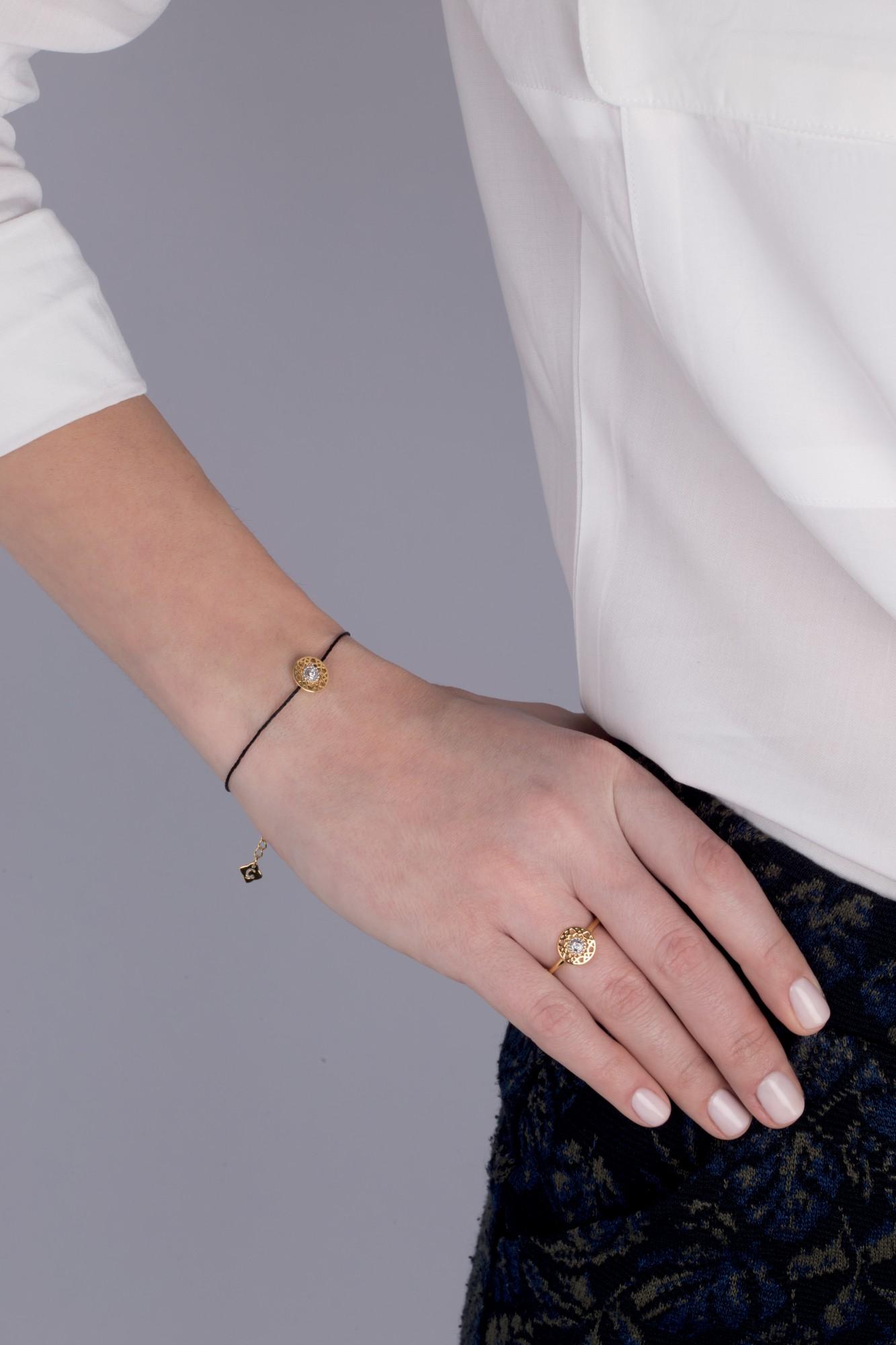 Bracelet Plaqué Or jaune Femme La Garçonne Diamant