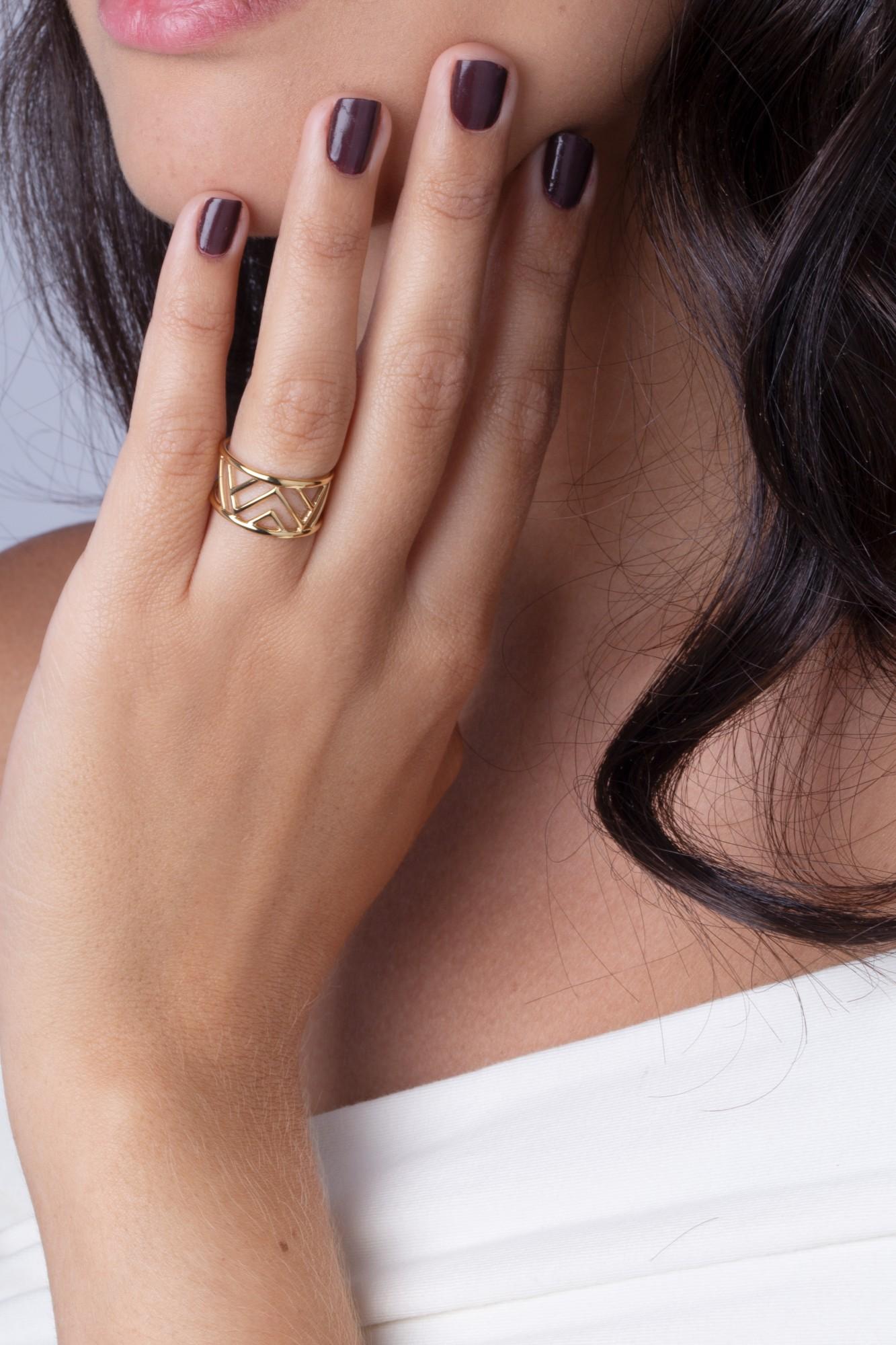 Bague acier 316L Femme PHEBUS pour #Elle
