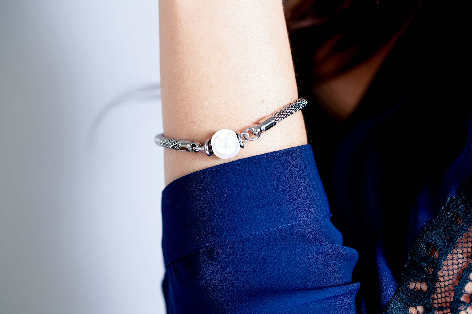 Bracelet acier 316L Femme CERANITY