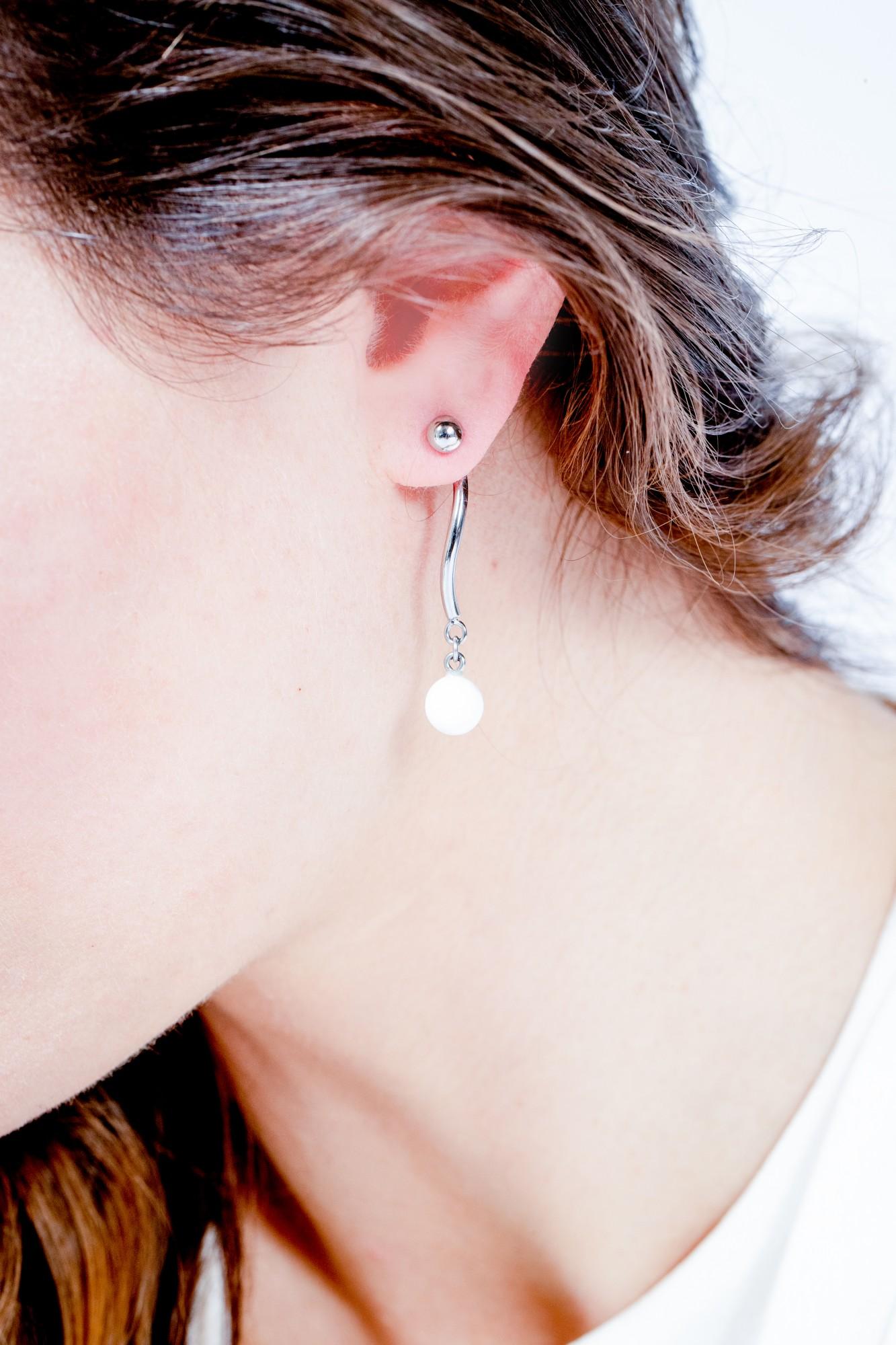 Boucles d'oreilles Acier Femme CERANITY