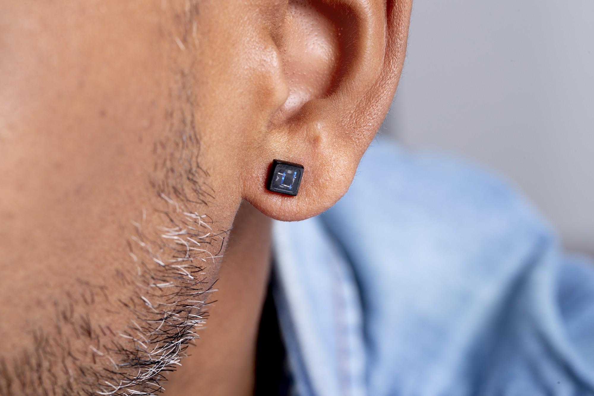Boucles d'oreilles Acier Homme PHEBUS pour #Lui