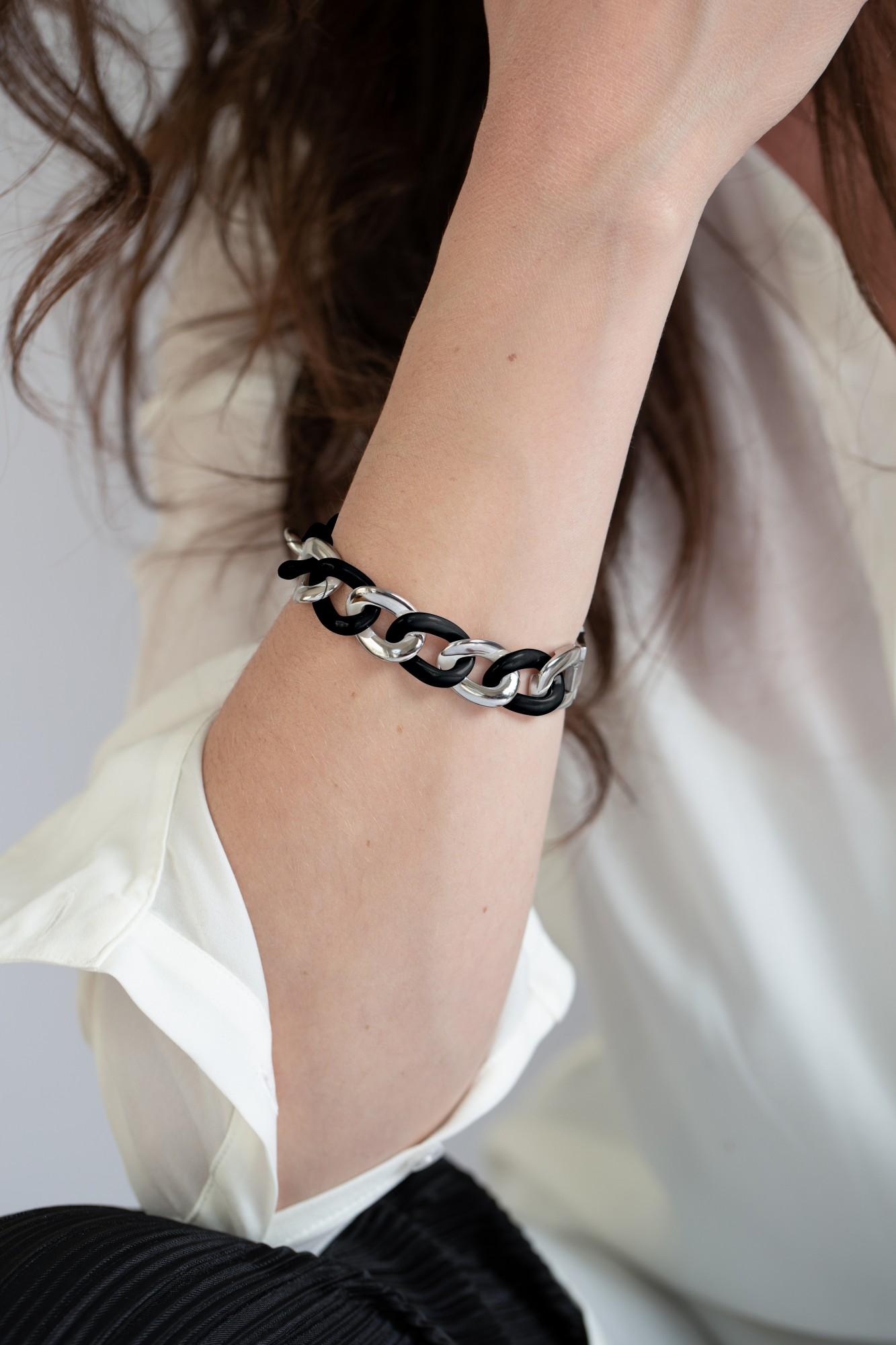 Bracelet Acier Femme CERANITY